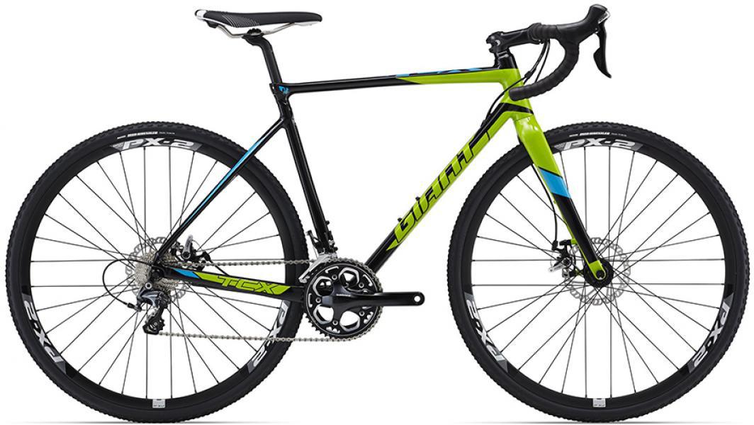 Велосипед шоссейный Giant TCX SLR 1 2016, цвет: черный, рама 16, колесо 28260202
