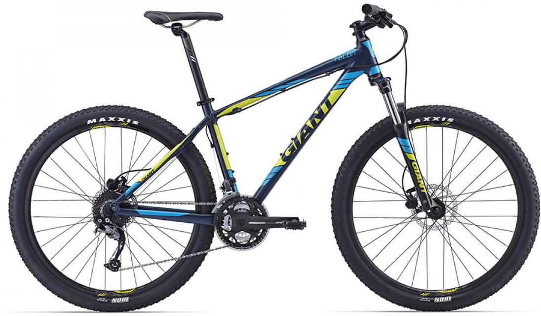 Велосипед горный Giant Talon 3 2016, цвет: синий, рама 20, колесо, 27,5260208