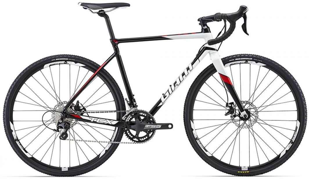 Велосипед шоссейный Giant TCX SLR 2 2016, цвет: черный, рама 22, колесо 28260219