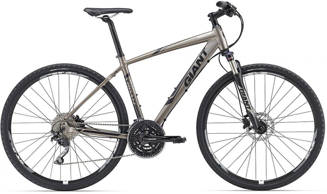 Велосипед городской Giant Roam 0 Disc 2016, цвет: серый, рама 22, колесо 28260221