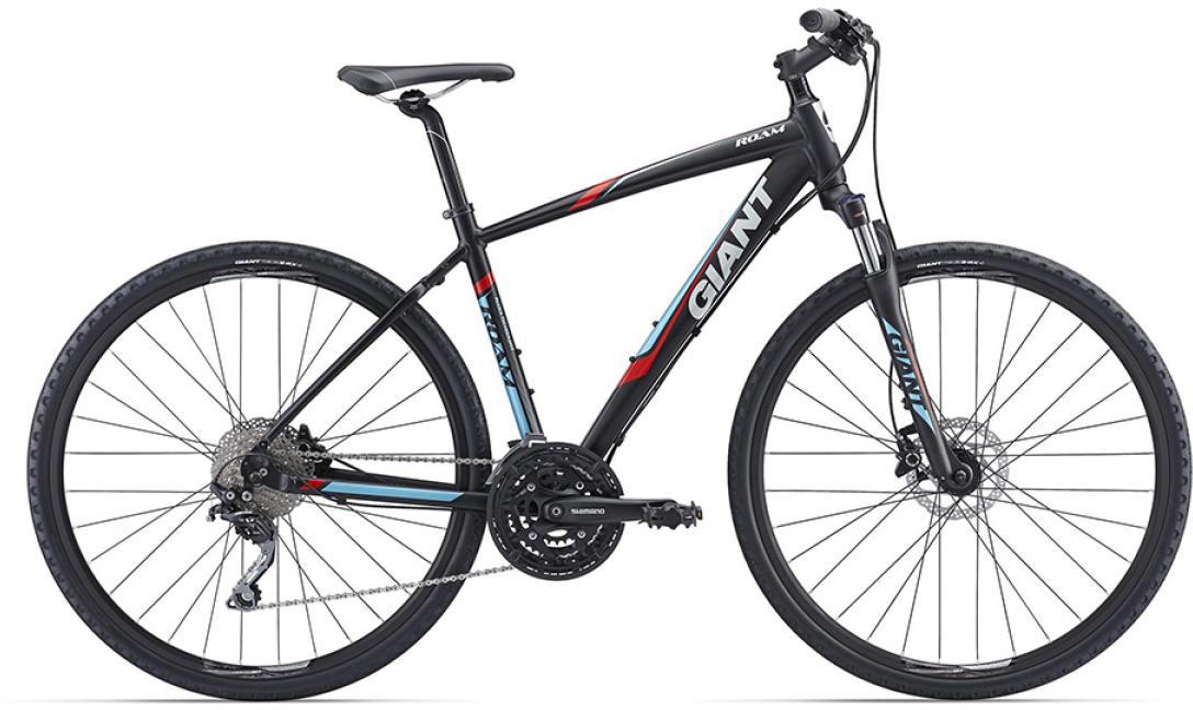 Велосипед городской Giant Roam 1 Disc 2016, цвет: черный, рама 16, колесо 28260223