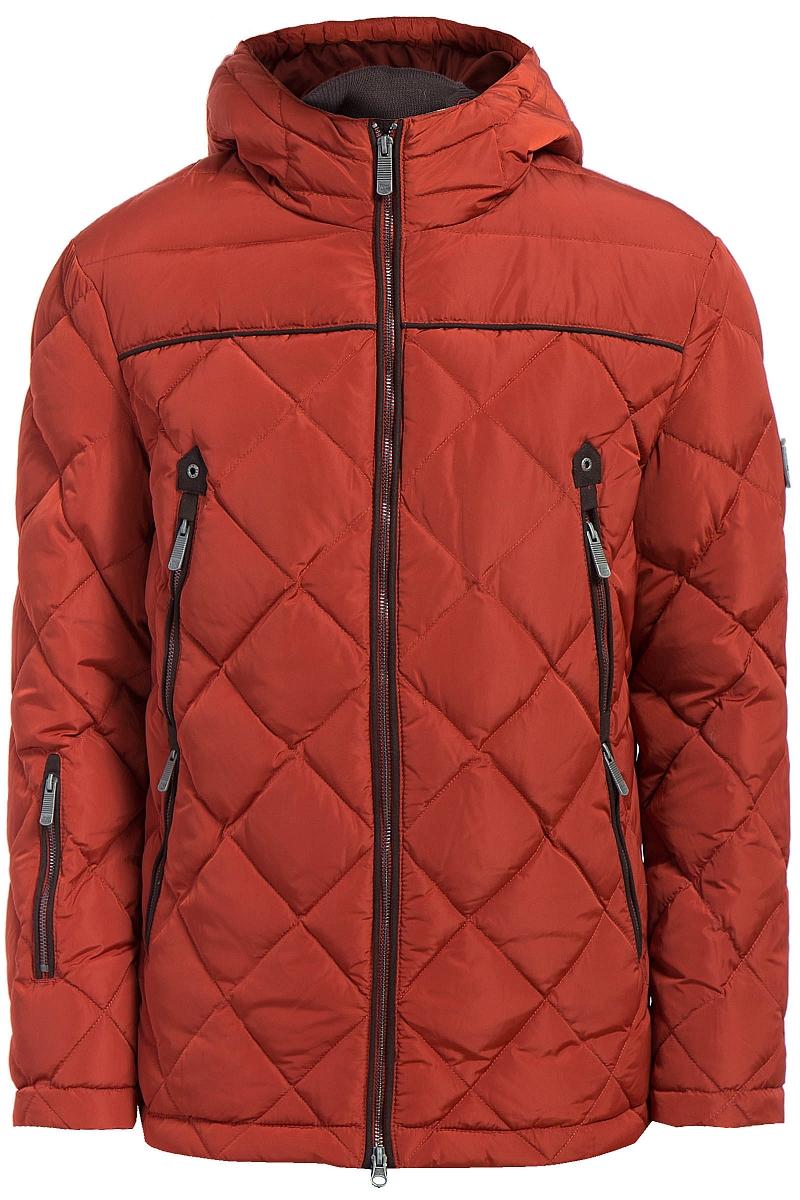 Куртка мужская Finn Flare, цвет: темно-бордовый. W17-22002_319. Размер 3XL (56)W17-22002_319