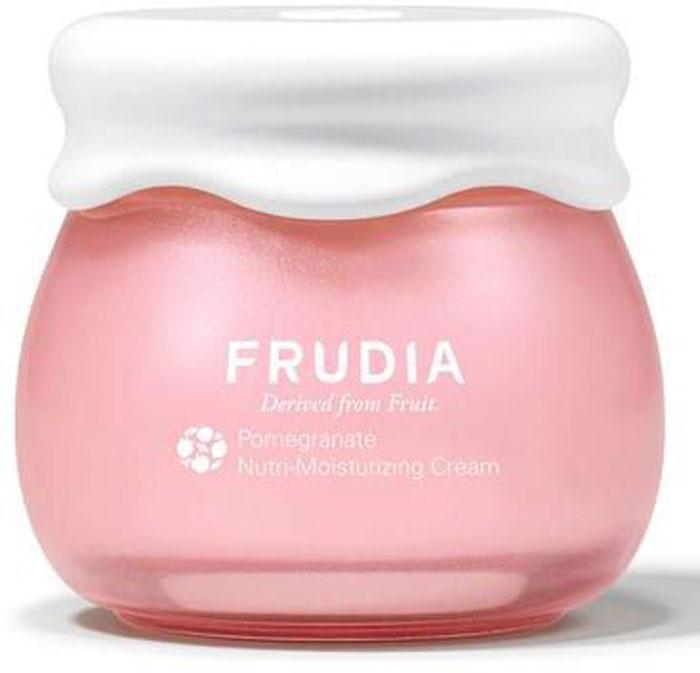 Frudia Pomegranate Питательный крем с гранатом, 55 г03013Состоящий на 63% из экстракта граната, богатого полифенолом, крем-пуддинг активно питает и восстанавливает кожу. Повышает эластичность, разглаживает кожу, наполняя ее сиянием. Аденозин устраняет мелкие и глубокие морщины, а масло граната и другие масла фруктов питают и смягчают. Крем с натуральным составом подойдет и для чувствительной кожи.