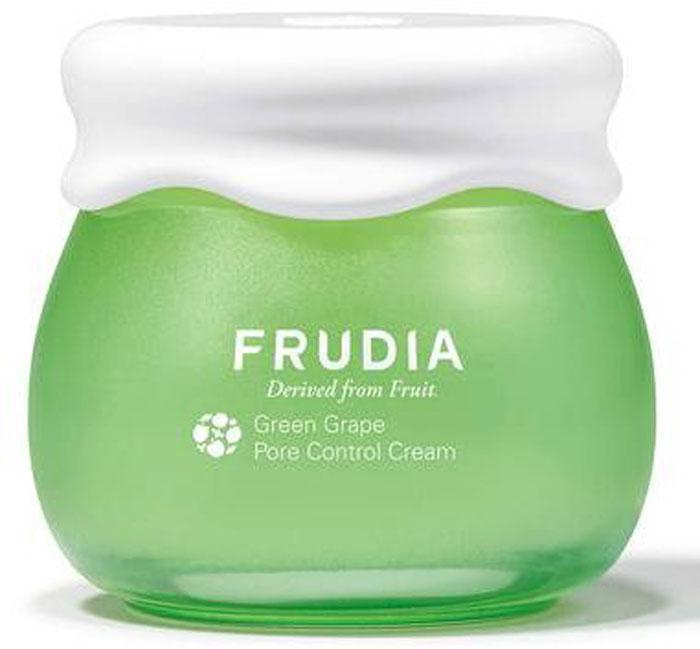 Frudia Green Grape Себорегулирующий крем с зеленым виноградом, 55 г34750Состоящий на 81% из экстракта зеленого винограда, крем-сорбет обеспечивает уход за жирной и комбинированной кожей. Оказывает поросуживающий эффект, выравнивает поверхность кожи, регулирует себовыделение. Пантенол снимает раздражение, масла косточек зеленого винограда и другие масла фруктов питают и смягчают. Крем с натуральным составом подойдет и для чувствительной кожи.