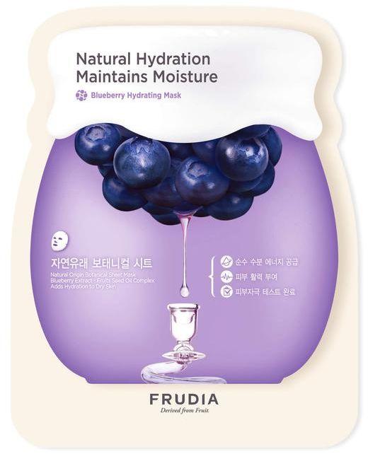 Frudia Blueberry Увлажняющая маска с черникой, 5 шт x 27 мл маска для лица с экстрактом черники frudia blueberry hydrating mask 1pcs