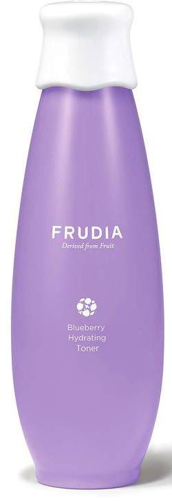Frudia Blueberry Увлажняющий тоник с черникой, 195 мл03374Состоящая на 71% из экстракта черники, сыворотка направлена на мощное увлажнение и смягчение кожи. Экстракт листьев черники и бетаин обладают антиоксидантным эффектом, а комплекс масел семян фруктов и растений активно восстанавливает сухую, обезвоженную и усталую кожу. Сыворотка с натуральным составом подойдет и для чувствительной кожи.