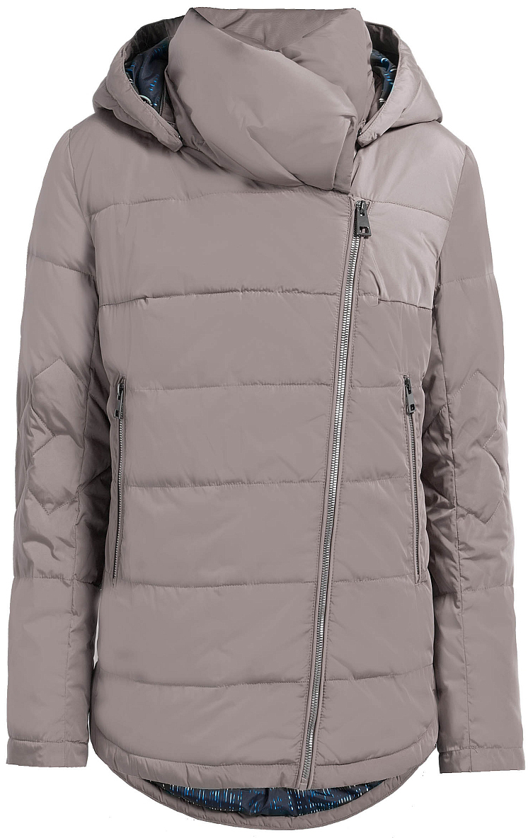 куртка женская finn flare цвет светло серый b17 12018 210 размер l 48 Куртка женская Finn Flare, цвет: серый. W17-12035_824. Размер L (48)