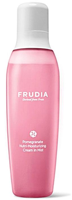 Frudia Pomegranate Питательный крем-спрей с гранатом, 110 мл03355Новый формат сочетает уходовые свойства крема с легкой формулой спрея для лица. На 85% состоящий из экстракта граната, богатого полифенолом, крем-спрей активно питает и восстанавливает кожу. Повышает эластичность, разглаживает кожу, наполняя сиянием. Аденозин устраняет мелкие и глубокие морщины, а масло граната и другие масла фруктов питают и смягчают. Крем-спрей с натуральным составом подойдет и для чувствительной кожи.