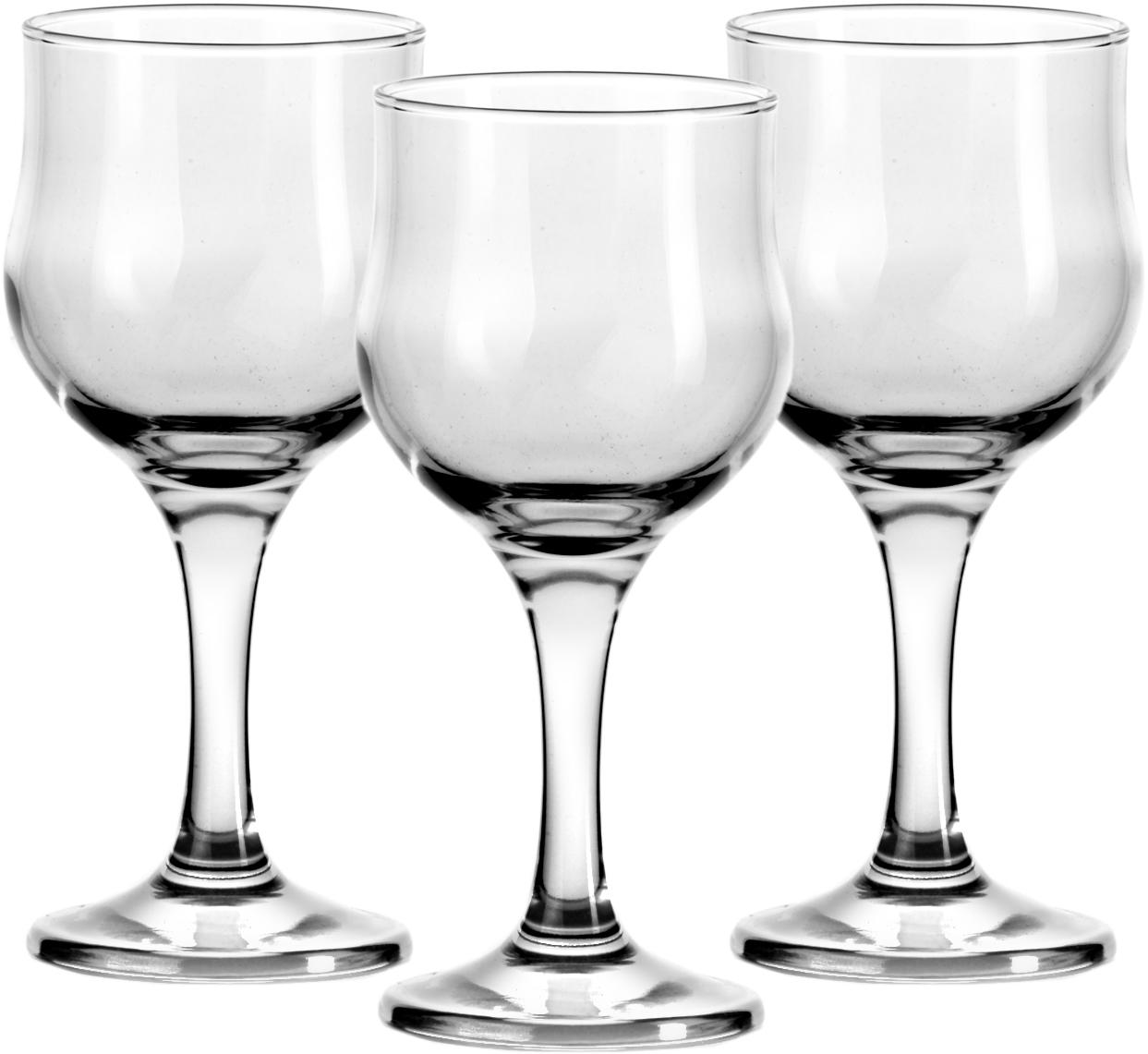 Набор бокалов Pasabahce Tulipe, 315 мл, 3 шт44162B/Набор Tulipe состоит из трех бокалов, выполненных из прочного натрий-кальций-силикатного стекла. Изделия оснащены ножками. Бокалы сочетают в себе элегантный дизайн и функциональность. Благодаря такому набору пить напитки будет еще вкуснее.Набор бокалов Tulipe прекрасно оформит праздничный стол и создаст приятную атмосферу за ужином. Такой набор также станет хорошим подарком ! Состав набора: 3 бокала. Объем: 315 мл.