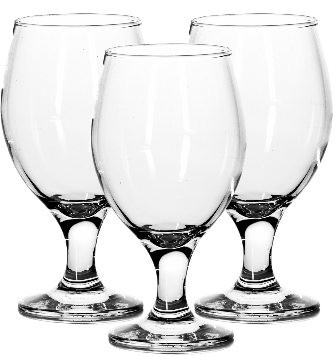 Набор бокалов Pasabahce Bistro, 400 мл, 3 шт44417B/Набор Pasabahce Bistro состоит из трех бокалов на ножке, изготовленных из прочного натрий-силикатного стекла. Изделия, несомненно, придутся вам по душе. Бокалы сочетают в себе элегантный дизайн и функциональность. Набор бокалов Pasabahce Bistro идеально подойдет для сервировки стола и станет отличным подарком к любому празднику! Состав набора: 3 бокала. Объем: 400 мл.