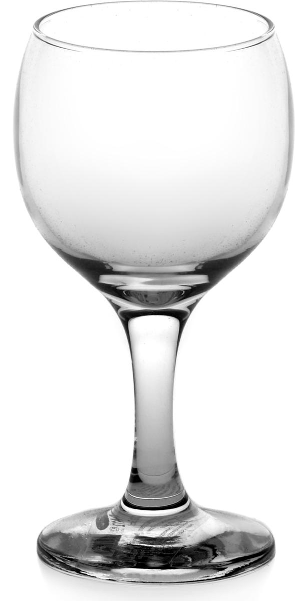 Бокал изготовлен из высококачественного бесцветного непористого прозрачного стекла. Долговечен в использовании, во время долгой эксплуатации не потеряет своего аккуратного внешнего вида. Высота - 130 мм.