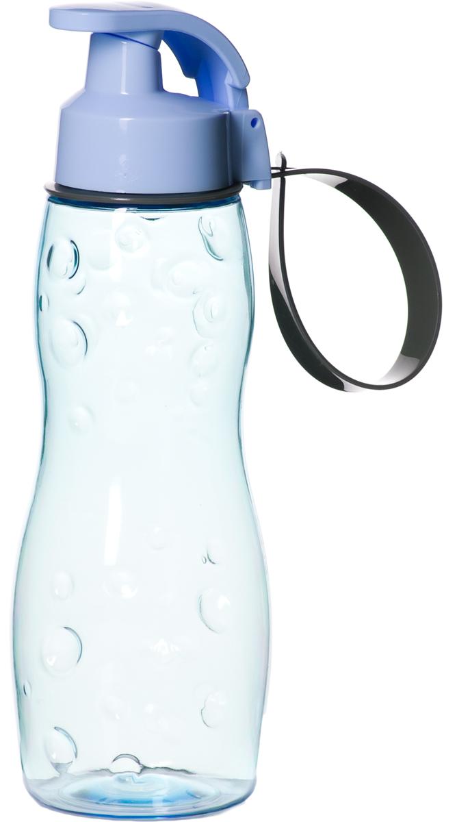 Бутылка для воды Herevin, цвет: голубой, 500 мл. 161412-000 джон дэвисон рокфеллер как я нажил 500 000 000 мемуары миллиардера