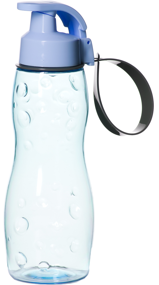 Бутылка для воды Herevin, цвет: голубой, 500 мл. 161412-000 бутылки для воды sunday стильная бутылочка