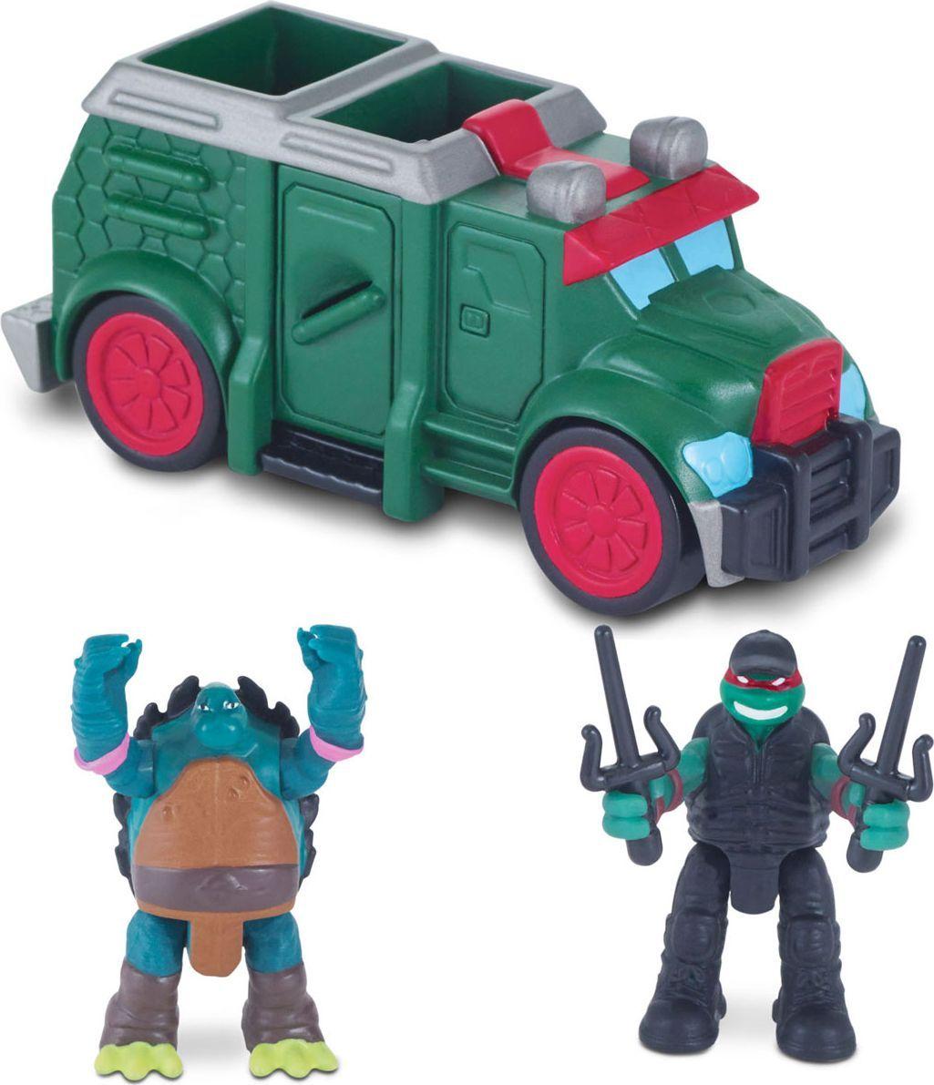Черепашки Ниндзя Игровой набор Бронированный грузовик playmates toys гидроцикл черепашки ниндзя