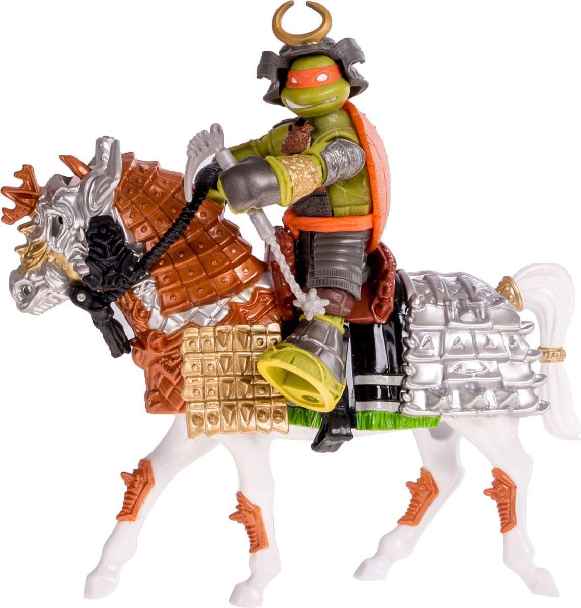 Черепашки Ниндзя Игровой набор Самурай Майки на коне - Игровые наборы