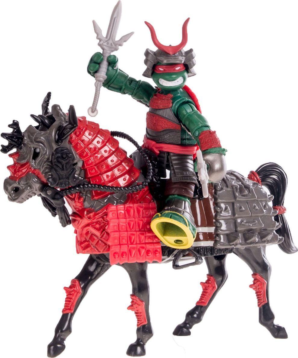 Черепашки Ниндзя Игровой набор Самурай Раф на коне фигурка функ черепашки ниндзя 14 см со звуком раф серия movie line 2016