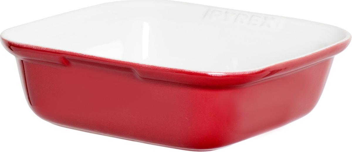 Форма для запекания Pyrex Impressions, квадратная, цвет: красный, 24 x 24 смIC5SR24/5046Квадратная форма для запекания Emile Henry Classics изготовлена из высокопрочной огнеупорной керамики. Форма превосходно подойдет для приготовления овощных и мясных запеканок, лазаньи, десертов. При приготовлении в керамической посуде сохраняются питательные вещества и витамины. Керамика - один из самых лучших материалов, который удерживает тепло, медленно и равномерно его распределяет. Оригинальный дизайн и насыщенный цвет формы повысят вам настроение и добавят яркости вашему столу. Можно использовать в морозильной камере, микроволновой печи и духовом шкафу. Форма подойдет и для сервировки стола. Материал: керамика. Цвет: красный.Размер формы: 24 см х 24 см.При производстве посуды Emile Henry используются только природные материалы высокого качества: необработанная бургундская глина и минеральные оксиды, усиливающие цвет глазури. Продукция не содержит кадмий, никель и свинец, что гарантирует естественное и здоровое приготовление пищи.