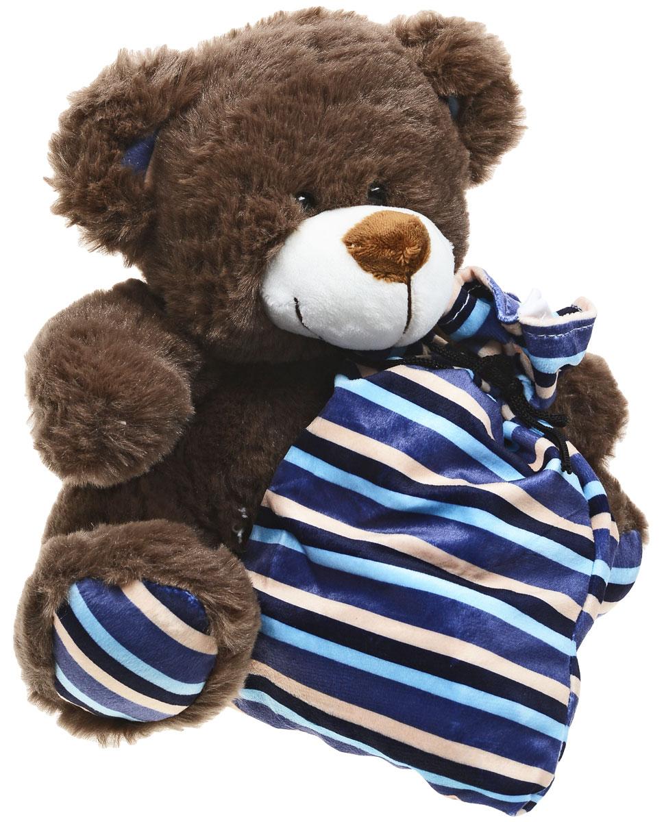 Сладкий новогодний подарок мягкая игрушка Мишутка, 300 г необычный подарок девушке 30 лет в ростове на дону