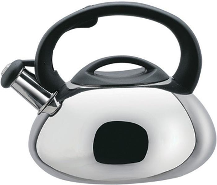 Чайник Bekker, со свистком, 3 л. BK-S309BK-S3093 л со свистком, толщина стенки и дна 0,6 мм, ручка бакелитовая фиксированная, крышка бакелитовая, цельнометаллическое дно, поверхность матовая. Подходит для индукционных плит и чистки в посудомоечной машине. Состав: нержавеющая сталь.