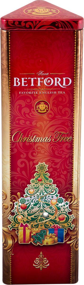 Betford Рождественская елка чай черный, 80 г4792021030857Два верхних листа чайного куста — самые нежные и сочные листья — собирают вручную, тщательно отбирают и купажируют в элитный цейлонский сорт особой скрутки листа Jumbo Pekoe. Этот сорт, соединив в себя самое лучшее — щедрость природы и заботу человека, — стал поистине элитным напитком. Всё о чае: сорта, факты, советы по выбору и употреблению. Статья OZON Гид