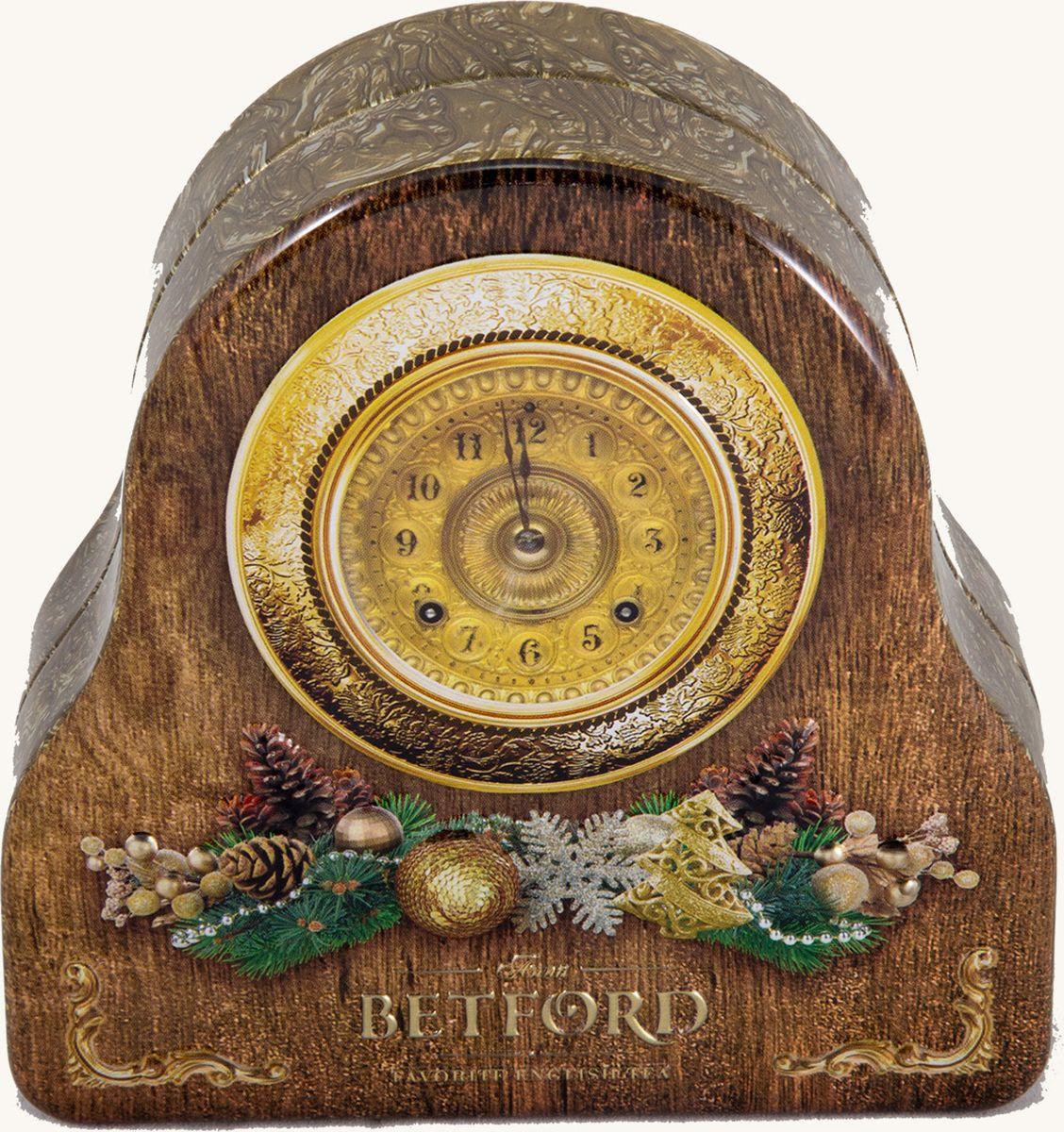 Betford Волшебный час чай черный ароматизированный с бергамотом, 50 г4792021030949Чай Earl Grey особенно любим британцами. В Англии его традиционно пьют как классический вечерний напиток, без сахара, с легкими закусками, или же во время утреннего чаепития для улучшения настрония. Деликатный цитрусовый аромат чая Betford Earl Grey приятно освежает терпкий вкус черного цейлонского чая высшего стандарта OP. Масло бергамота придает элегантный оттенок вкусу чая. Когда бы Вы не заварили чашку чая Betford Earl Grey, Вы непременно получите наслаждение, которое захотите повторить.Состав: чай черный байховый цейлонский ОРА с ароматом бергамота.Сорт: высший, стандарт OPAПроизводитель сырья: Шри ЛанкаСрок годности: 36 месяцев с даты изготовленияУсловия хранения: хранить в сухом прохладном месте вдали от источника тепла и солнечного света, при влажности воздуха не более 60-65%Фасовка: ж/б, 50гВ коробке: 24 банки