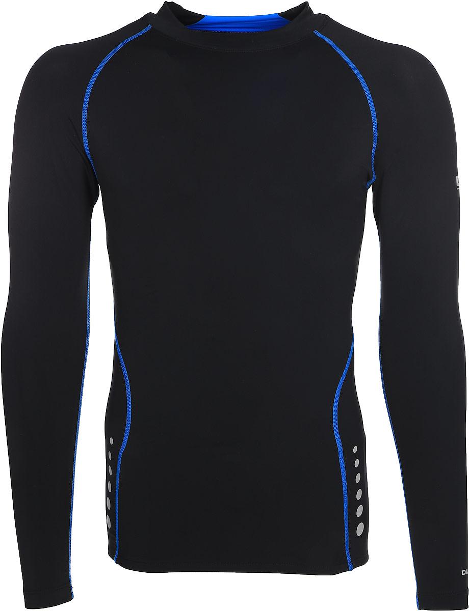 Термобелье футболка мужская Trespass Brawn, цвет: черный. MABLTPL20002. Размер XL (54)MABLTPL20002