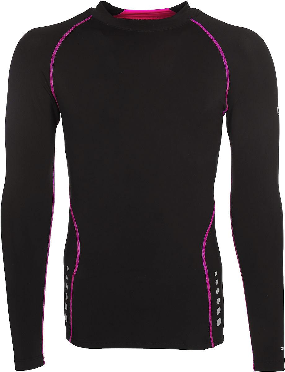 Термобелье футболка женская Trespass Dasha, цвет: черный. FABLTPL20003. Размер S (44)FABLTPL20003