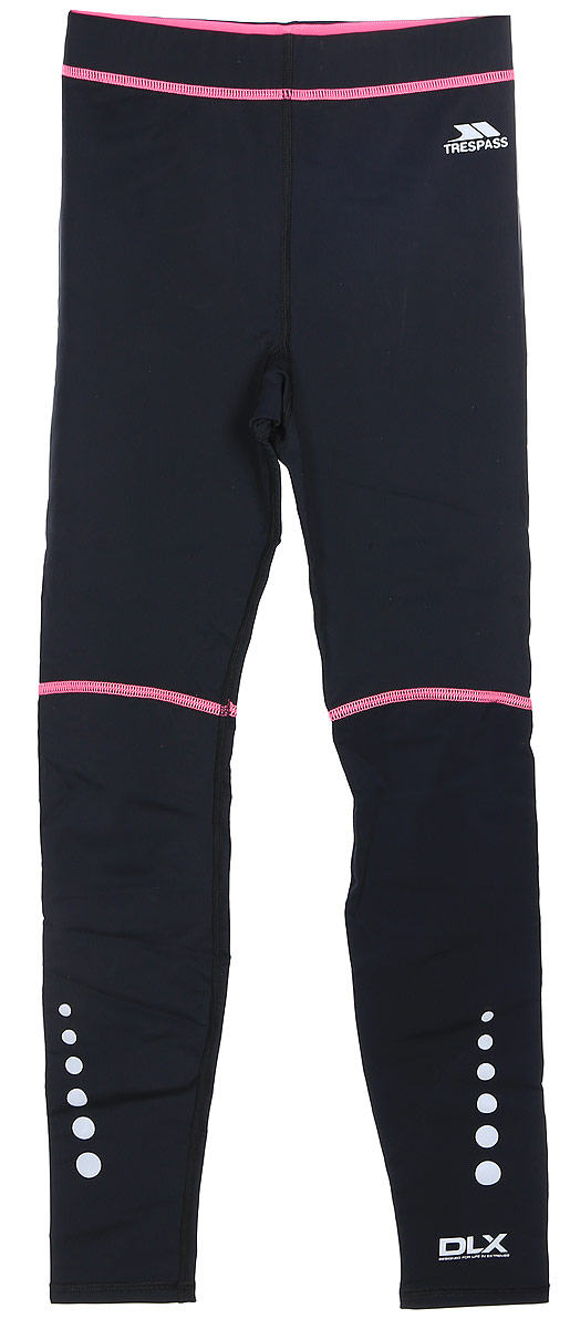Термобелье брюки женские Trespass Haver, цвет: черный. FABLTRL20001. Размер L (48)FABLTRL20001Универсальное женское термобелье из эластичной, легкой, но согревающей ткани сохранит ваше тело в тепле, сухости и комфорте. Прекрасная терморегуляция, свободный крой и плоские швы. Модель со стандартной посадкой на талии. Мягкие плоские швы позволяют носить белье с комфортом.