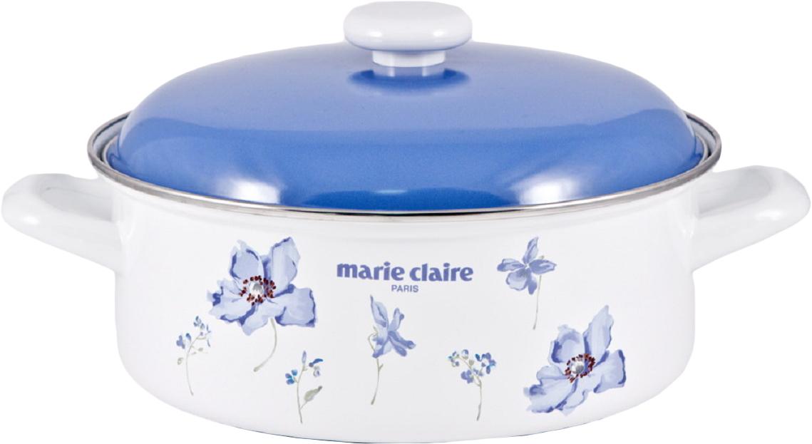 Кастрюля Fuji Horo Мари Клер, с крышкой, цвет: синий, 3,2 лMCG-24W