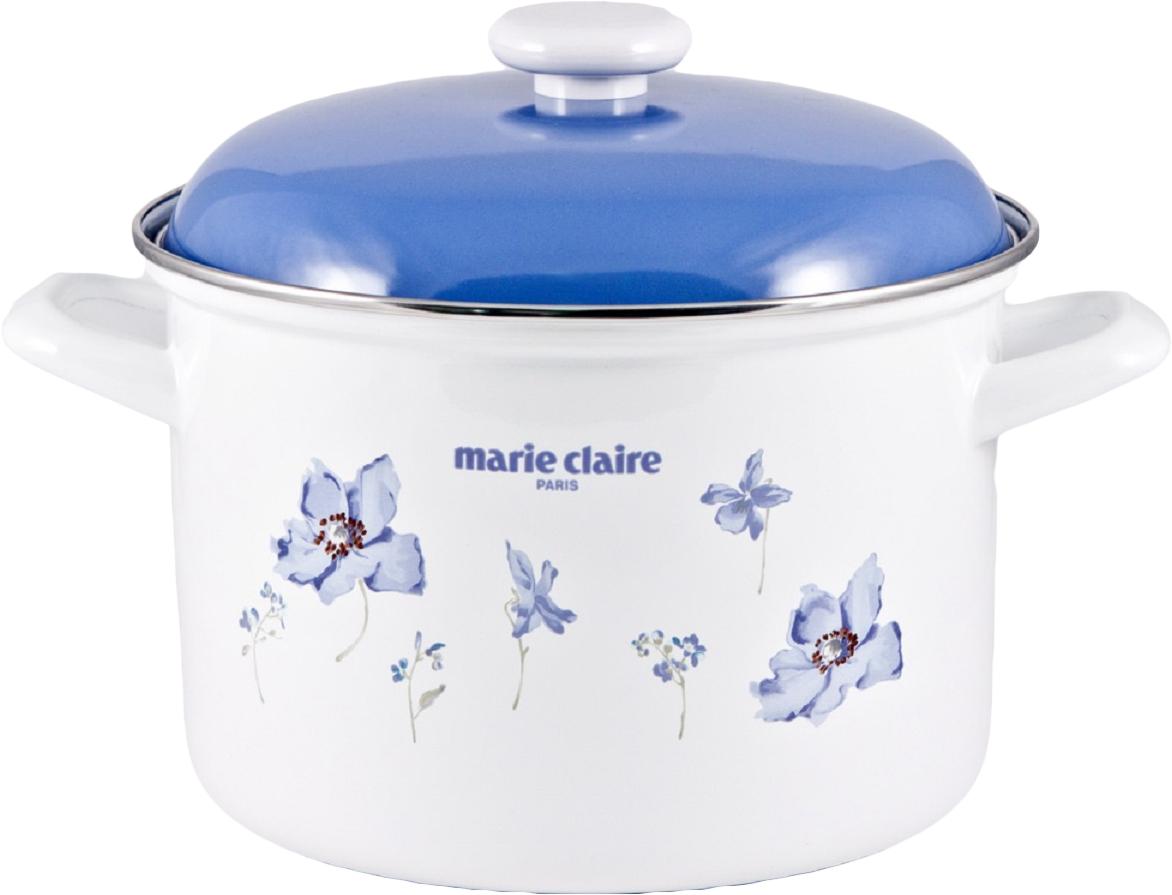 Кастрюля Fuji Horo Мари Клер, с крышкой, цвет: синий, 4,6 лMCG-22DW
