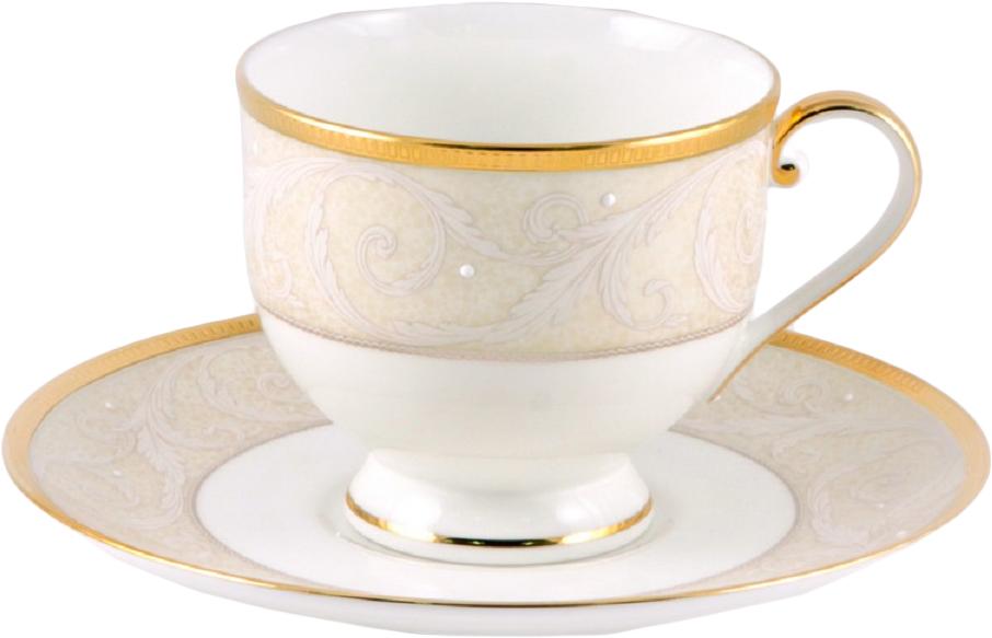 Чашка Narumi Ноктюрн золотой, с блюдцем, 24051035-АЛ54525Знаменитый бренд Narumi известен миру как производитель фарфора класса Luxe, а именно сорта Bone China. Компания работает над созданием элитного фарфора, отдавая при этом предпочтение классическим формам и декору. Многие стадии производства Narumi выполняются вручную. Тонкость бумаги, блеск зеркала, сияние водной глади, звон, сравнимый с боем в гонг, именно такими качествами согласно древнекитайским традициям должен обладать фарфор. Изделия Narumi - яркий пример продукции, соответствующей многовековым стандартам мастеров.