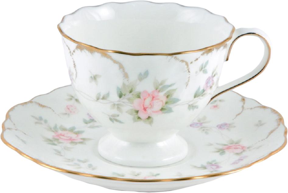 Набор чайных пар Narumi Воспоминание, 220 мл, 6 шт8967-22026