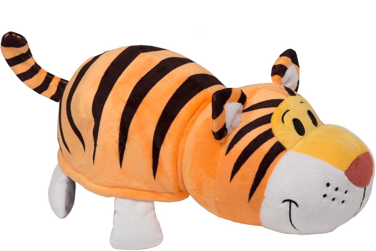 1TOYМягкая игрушкаВывернушка 2в1 Тигр-Слон 35 см - Мягкие игрушки