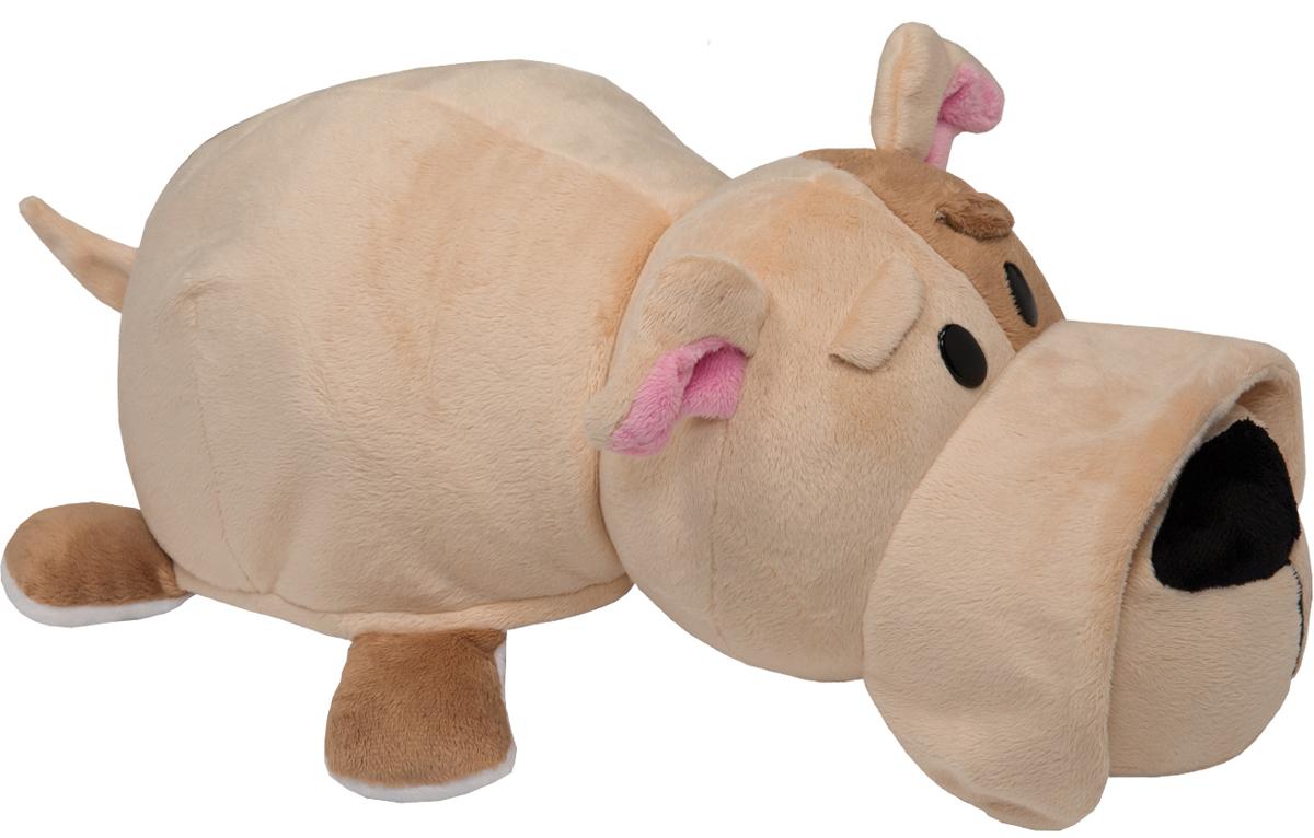 1TOYМягкая игрушкаВывернушка 2в1 Оранжевый кот-Бульдог 35 см - Мягкие игрушки