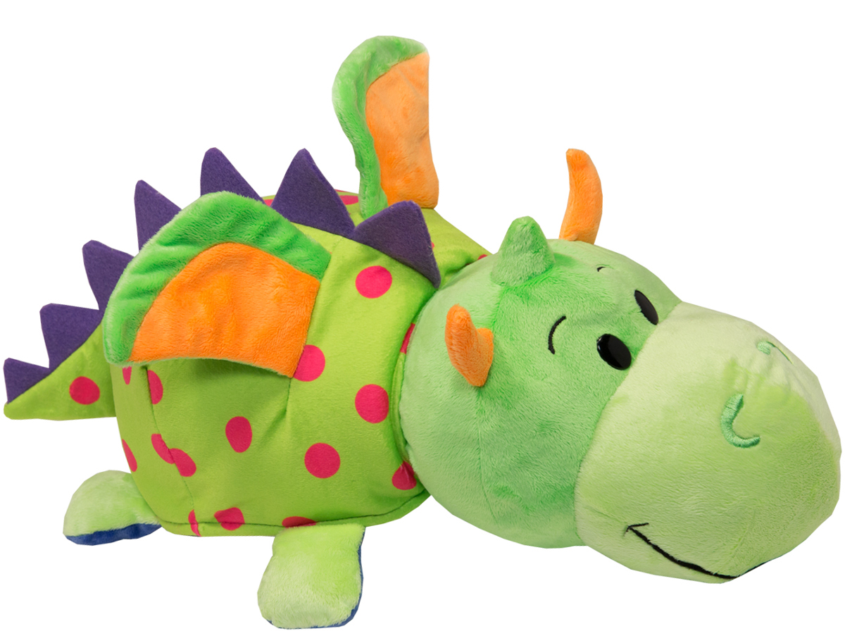 1TOYМягкая игрушкаВывернушка 2в1 Единорог-Дракон 35 см - Мягкие игрушки