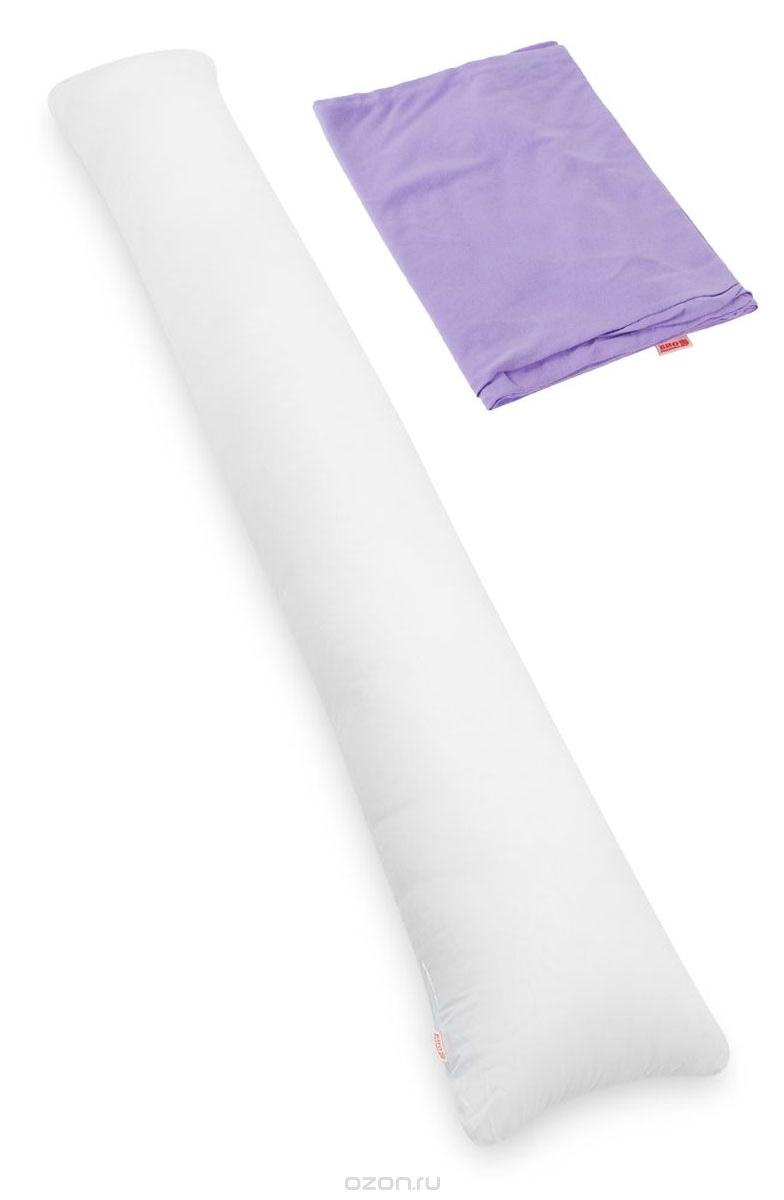 БИО-Подушка для всего тела I maxi, чехол: сиреневый - Подушки для беременных и кормящих