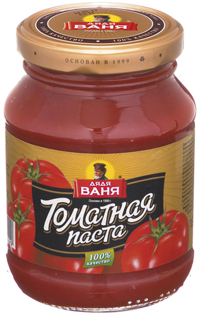 Дядя Ваня Томатная паста 25% ГОСТ, 270 гDV-4607002994892Делается строго по ГОСТу в России только из свежих томатов. Массовая доля сухих веществ 25%. Без красителей и консервантов!