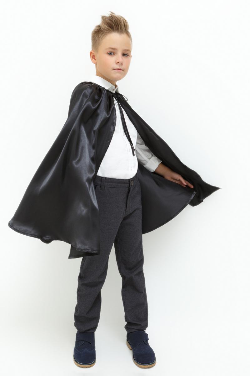 Плащ-накидка карнавальная для мальчика Acoola Rond, цвет: черный. 20106530001_100. Размер универсальный20106530001_100