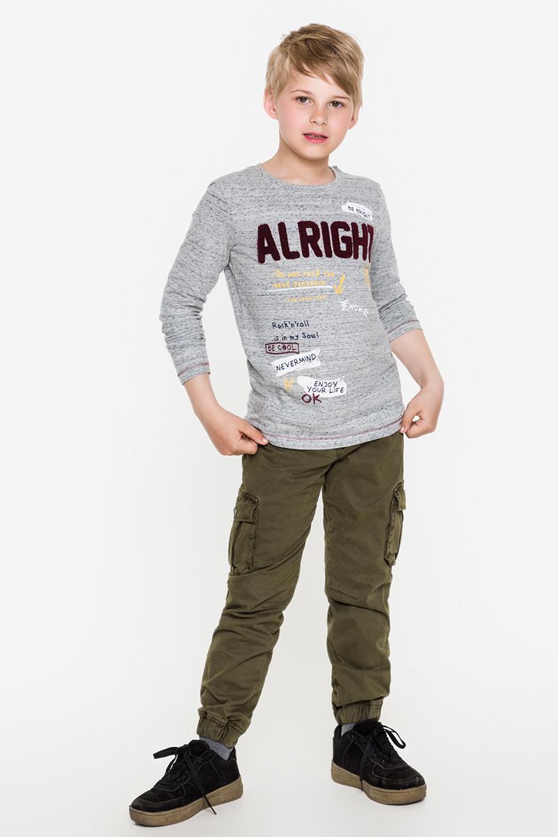 Футболка с длинным рукавом для мальчика Acoola Toyota, цвет: светло-серый. 20110100088. Размер 152 футболка с длинным рукавом для девочки acoola avon цвет светло розовый 20210100132 размер 164