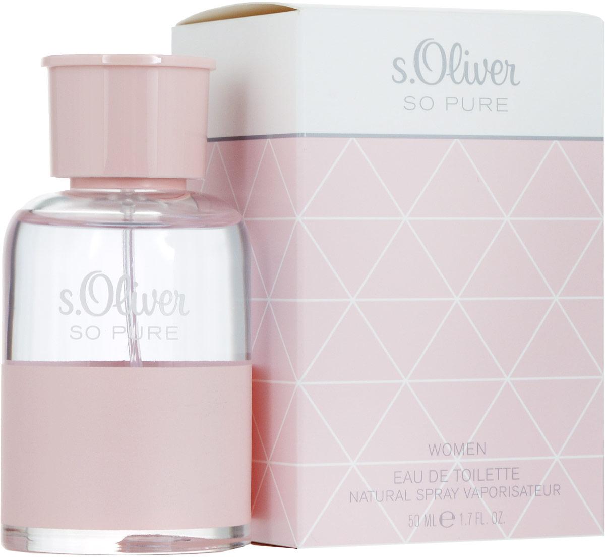 S.oliver So Pure Туалетная вода женская, 50 мл