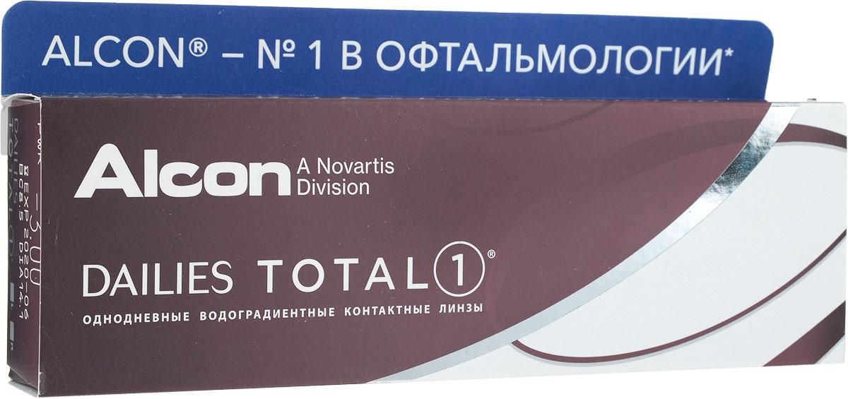 Alcon контактные линзы Dailies Total 1 30pk /-3.00 / 8.5 / 14.1