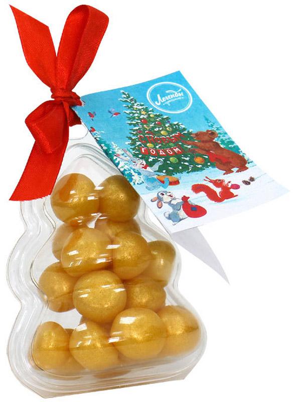 Ёлочная игрушка Ёлка с мармеладным драже, со вкусом банана, 85гр.YT-00001178Ёлочная игрушка Ёлка с мармеладным драже, со вкусом банана, 85гр.