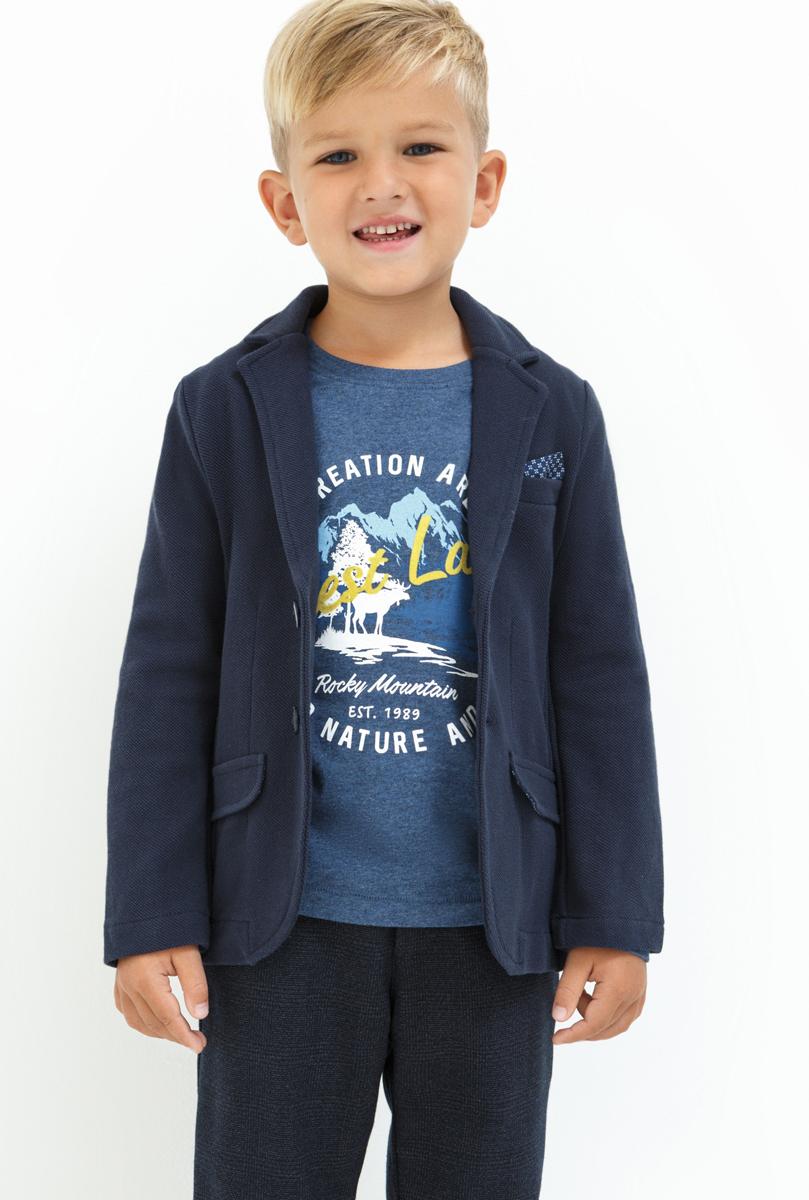 Жакет для мальчика Acoola Mave, цвет: темно-синий. 20120130103_600. Размер 11620120130103_600