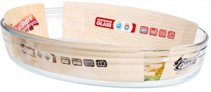 Блюдо овальное Pyrex Smart Cooking, 35х24 см. 346B000/5046 pyrex 813b000 5046