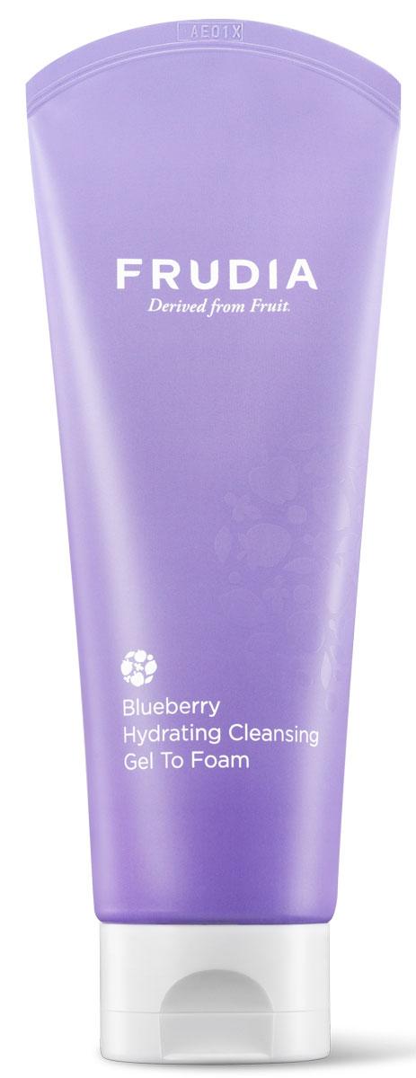 Frudia Blueberry Увлажняющая гель-пенка для умывания с черникой, 145 г набор масок с черникой frudia blueberry hydrating mask set