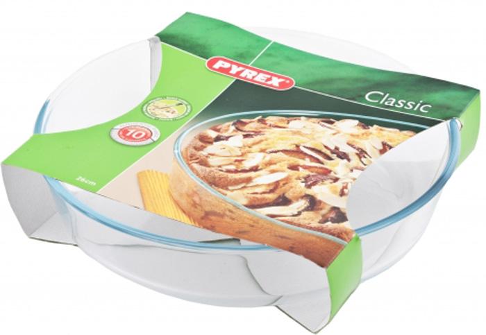 Форма для запекания Pyrex Smart Cooking, плоская, 26 см. 828B000/5046828B000/5046
