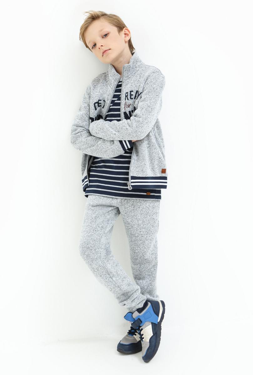 Брюки для мальчика Acoola Aran, цвет: серый. 20110160124_1900. Размер 15820110160124_1900