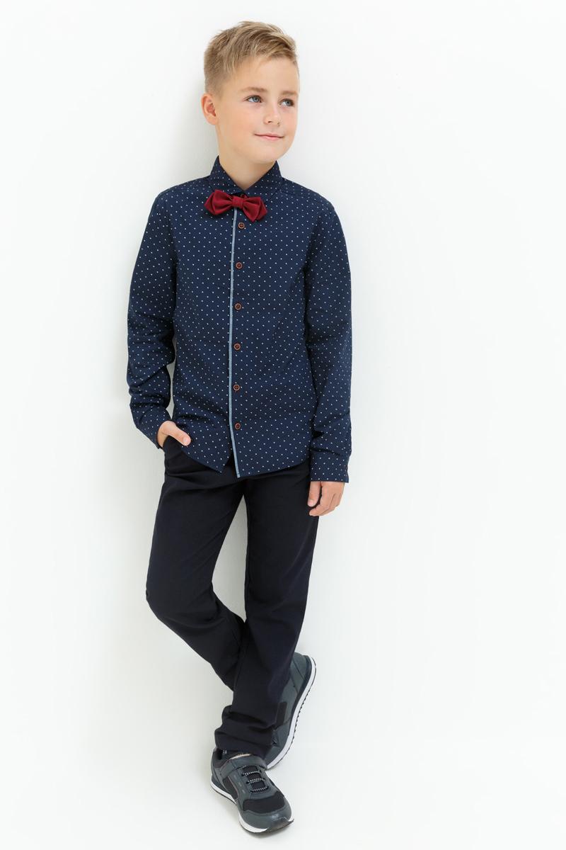 Брюки для мальчика Acoola Jake, цвет: темно-синий. 20110160131_600. Размер 164 брюки fox фокс цвет темный синий с карманами сзади для мальчика с 12 до 18 мес
