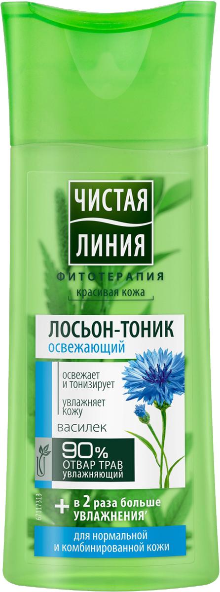 Чистая Линия Фитотерапия Лосьон-тоник Василек 100 мл