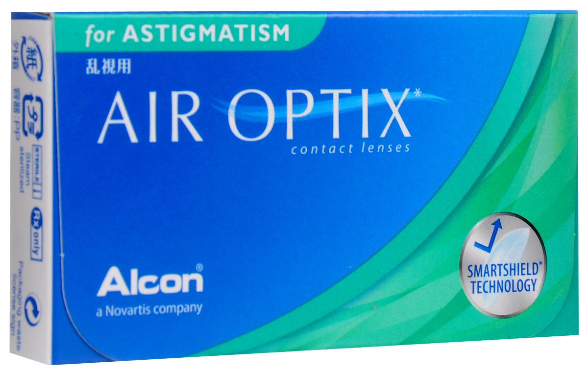 Аlcon контактные линзы Air Optix for Astigmatism 3pk /BC 8.7/DIA14.5/PWR -0.50/CYL -0.75/AXIS 9044399Мягкие контактные линзыУважаемые клиенты! Обращаем ваше внимание на то, что упаковка может иметь несколько видов дизайна.Поставка осуществляется в зависимости от наличия на складе.
